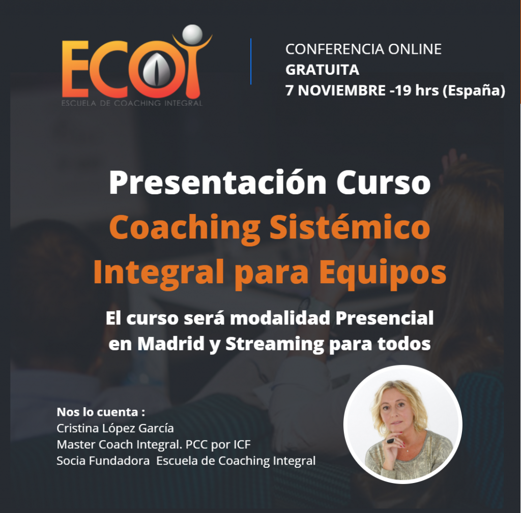 Presentación Curso Coaching Sistémico Integral para Equipos