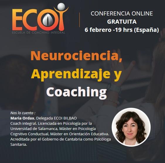 Neurociencia, aprendizaje y Coaching @ Conferencia online gratuíta