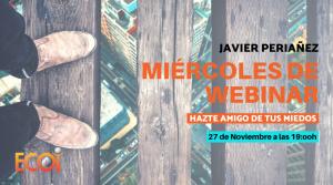 Webinar | HAZTE AMIGO DE TUS MIEDOS (Defensa personal emocional) @ Online