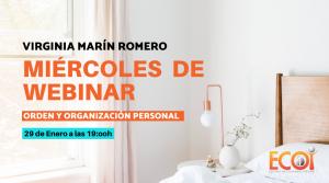 Webinar | ORDEN Y ORGANIZACIÓN PERSONAL @ Online